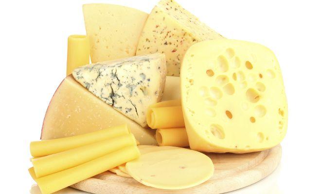 Tabela de caloria de queijos: