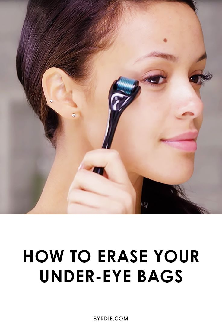 How to get rid of wrinkles and under-eye bags