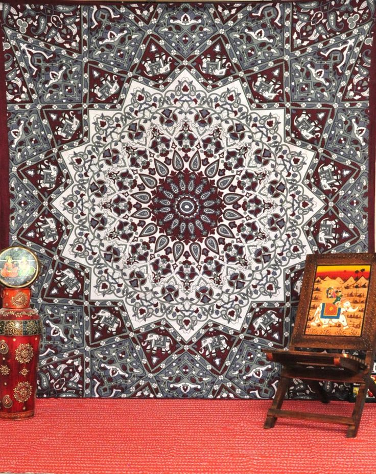 Star Mandala Tapestries, Hippie Tapestries, Tapestry Wall Hanging, Star Hippie Wall Tapestries, Indian Tapestry, Bohemian Dorm Tapestries