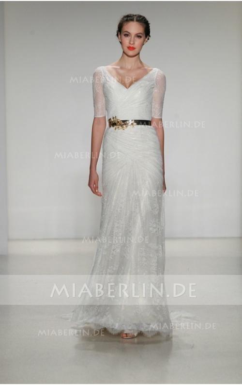 11 best brautkleid images on Pinterest | Short wedding gowns ...