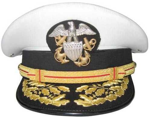 US Navy Hat Commander, The hat my Daddy wore when he retired after 30 years, he started out as a