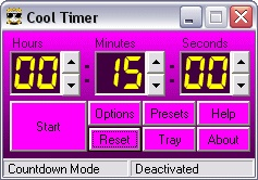 Cool Timer - stay on track, stop procrastinating!