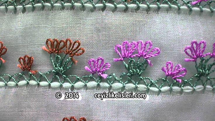 Muhteşem İğne Oyası Örneği - Spectacular Example of Needlework