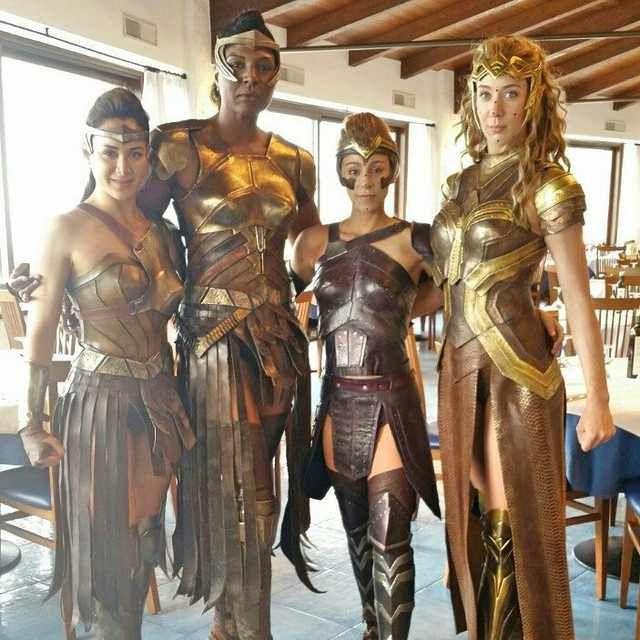 Wonder Woman Amazonian Extras Dump Wonder Woman Cosplay Wonder