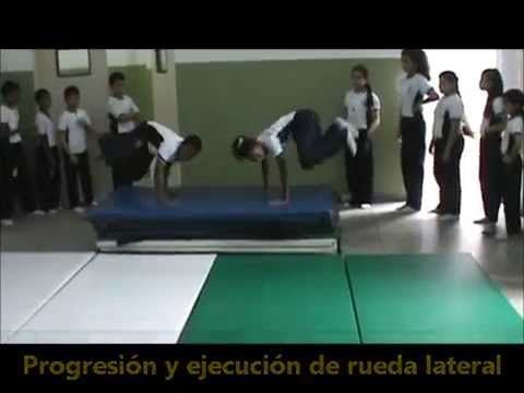 Gimnasia Basica Escolar 4to 5to 6to grado Puerto Ordaz