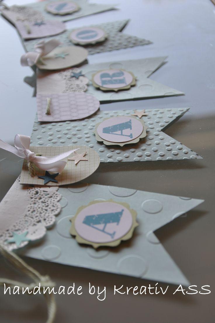 Die 25 besten ideen zu girlanden auf pinterest seidenpapier quasten und girlande - Girlande babyzimmer ...