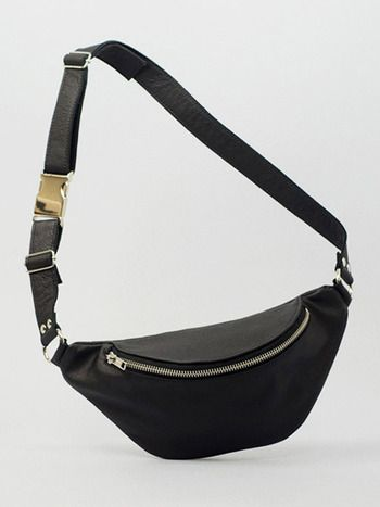 BLACK FANNY PACK Designed by Augusta Wind
