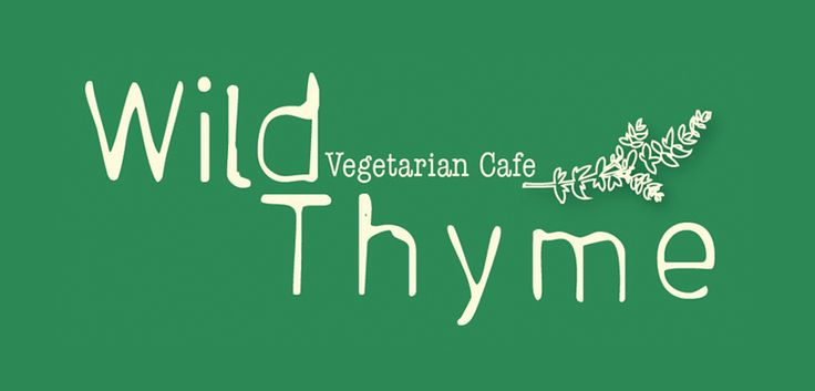 Wild Thyme - Norwich Vegetarian and vegan cafe with lots of atmosphere. I love the aesthetic and the grilled aubergine was delicious!