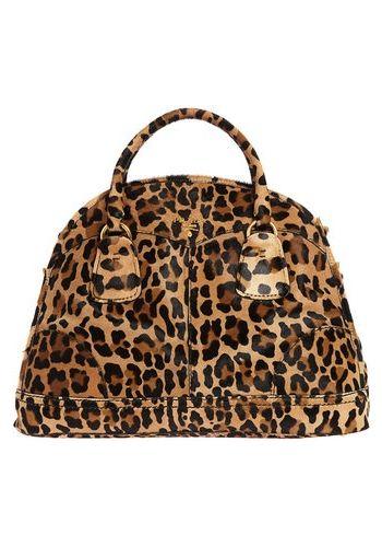 Prada leopard print bag