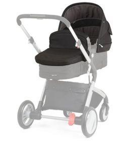 Mothercare Roam Pram & Pushchair Travel System - Black
