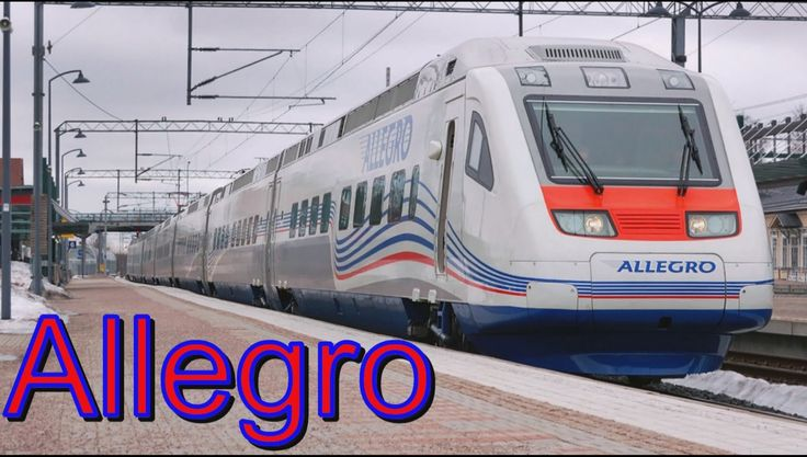 Russian high speed train Allegro  !