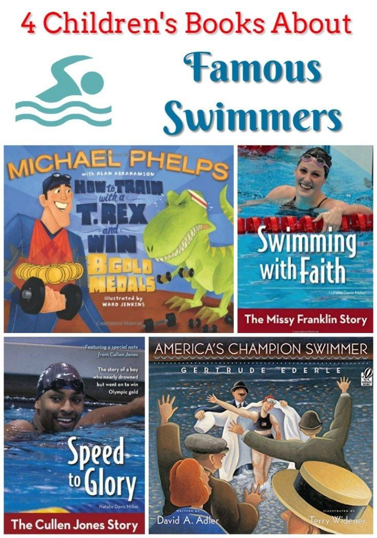 4 Children's Books About Famous Swimmers