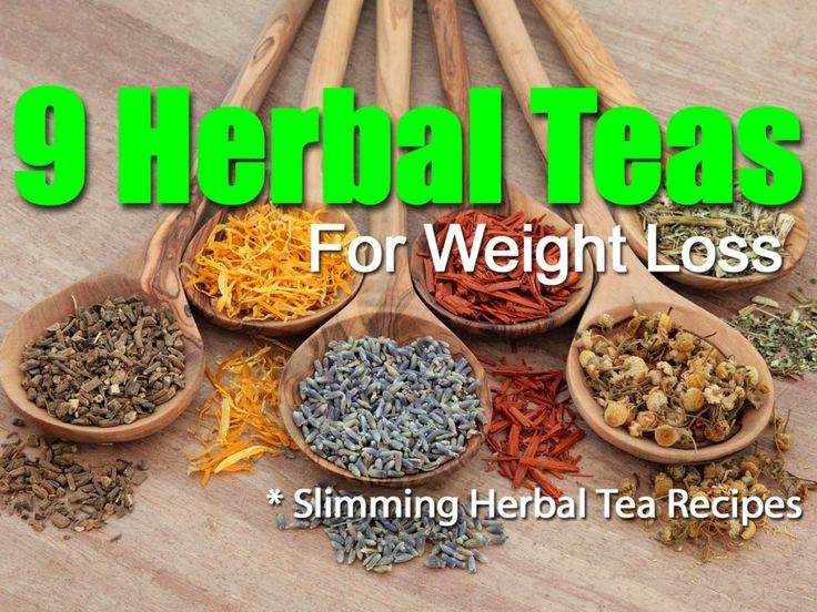 9 Slimming Herbal Weight Loss Teas: .1. Yerba Mate 2. Bilberry .3. Ginseng .4. Hibiscus Tea .5. Rose Tea .6. Pu-erh Tea .7. Porangaba Tea .8. Feiyan Tea .9. Green Tea *w/Details and Recipes