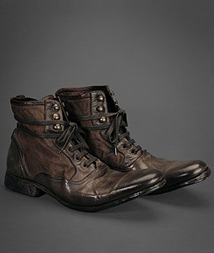 Ltd Edition Lace-Up Bowery Boot by John Varvatos