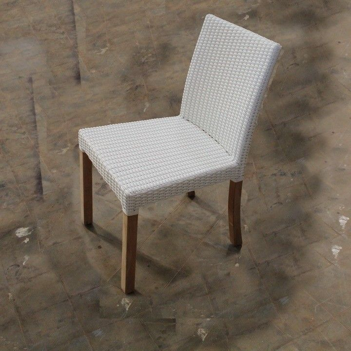 Brings a relaxing feeling to dining room or outdoor space with this synthetic rattan dining chair. Constructed from solid wood this chair brings a touch of charm to any dining room.  #bali #balifurniture #jepara #jeparafurniture #aluminumfurniture #aluminiumfurniture #dining #diningchair #design #designmag #designideas #furniture #indoorfurniture #interior #interiordesign #interiorideas #rattan #rattanfurniture #teakfurniture #teakwood #wicker #wickerfurniture #woodenfurniture #wickerchair