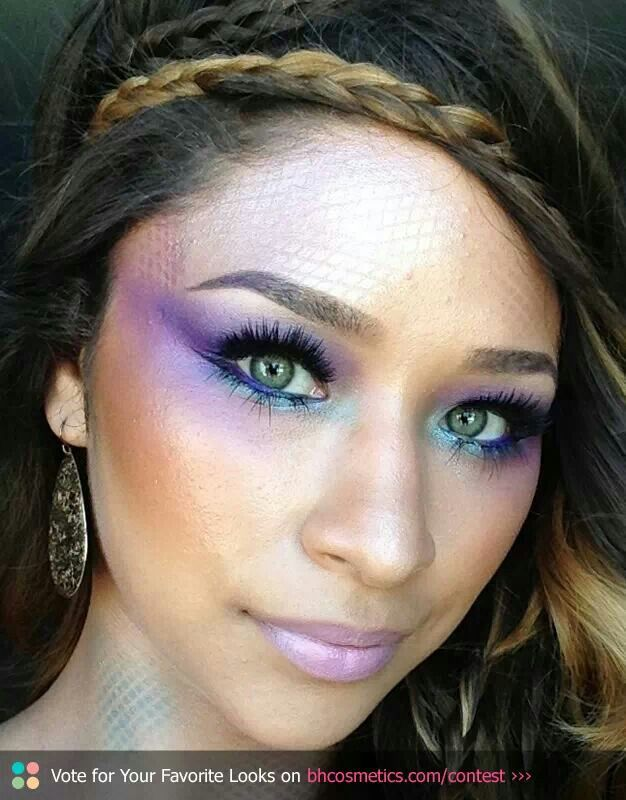 Mermaid Makeup Brushes: 1000+ Images About Mermaid Hair & Makeup On Pinterest