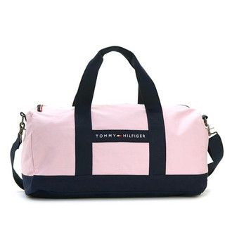Tommy Hilfiger Boston bag TOMMY HILFIGER Duffle Bag travel bag pink / Navy 6926158 661