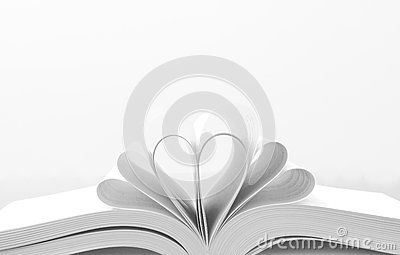 Heart Shaped Book by Jamesadaickalsamy, via Dreamstime