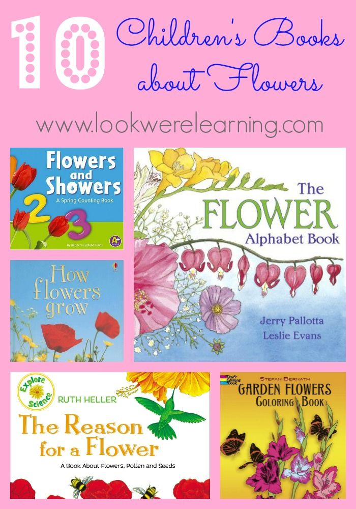 Books about flowers for kids - The Measured Mom