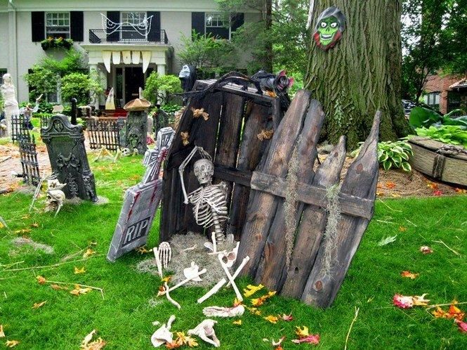 Halloween decorations ideas inspirations halloween for Decoration jardin halloween