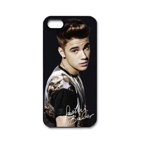 Justin Bieber Signed HD image case cover for iphone 5 black... ($14) ❤ liked on Polyvore featuring accessories, tech accessories, phone cases and justin bieber