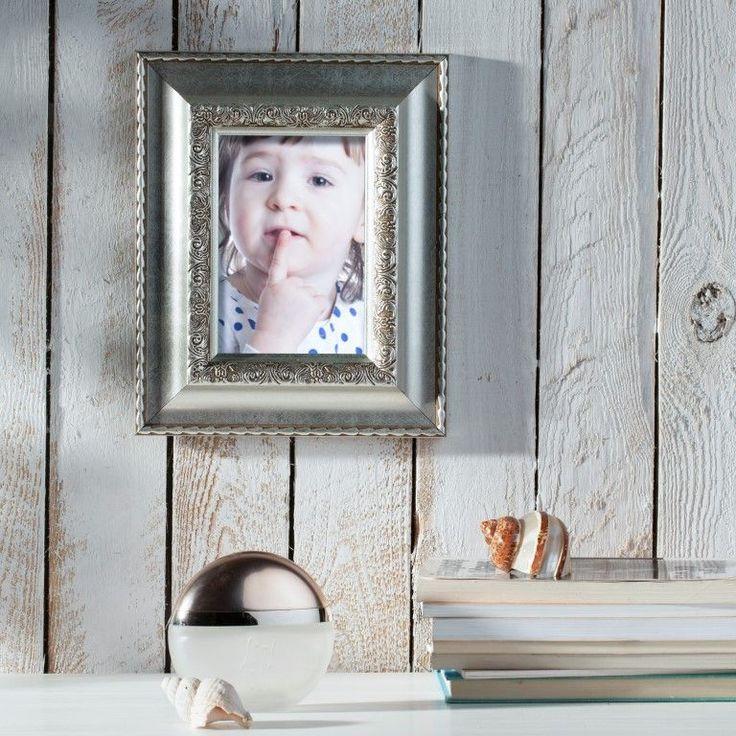 #ramka #photo #picture #frames #family #decoration #home #dekoracje Ramka Avril 20x24cm silver, 20x24cm - Dekoria