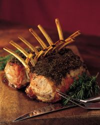 Roasted Rack of Veal Recipe from Food & Wine