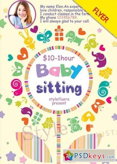 best 20 babysitting flyers ideas on pinterest babysitting jobs near me babysitter checklist. Black Bedroom Furniture Sets. Home Design Ideas