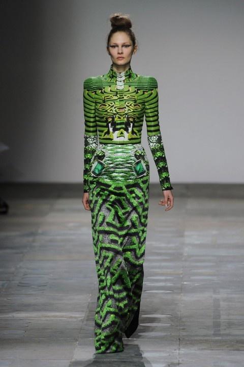 Mary Katrantzou A/W12    I want this dress!