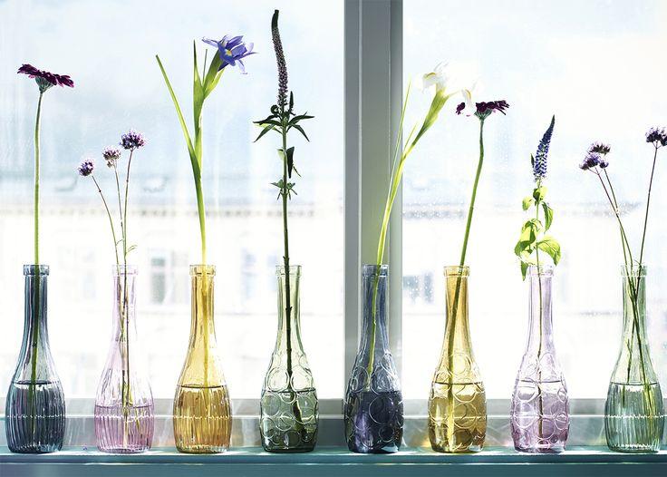 Ein Blumenstrauß muss nicht in einem Strauß bleiben. Lassen Sie Ihre Blumen ein …   – IKEA Australia Projects, How-to, and DIY