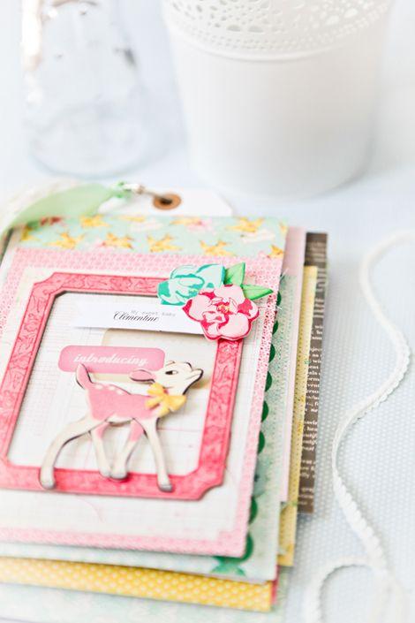 מיני אלבום: Paper Craft, Mini Books, Scrapbook Paper, Baby Book, Crate Paper, Scrap Book