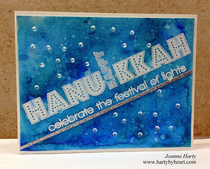 294 best judaica cards for the hagim images on pinterest holiday card created by joanna harty with cas ual fridays stamps festival of lights m4hsunfo Image collections