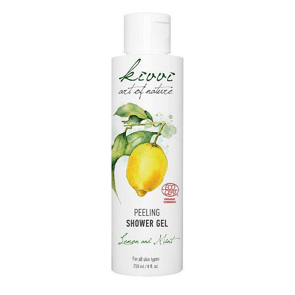Gel de duș peeling cu lămâie (250ml)