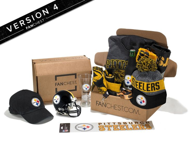 Pittsburgh Steelers Gift Box | Best Steelers Gifts | Steeler Gear • FANCHEST