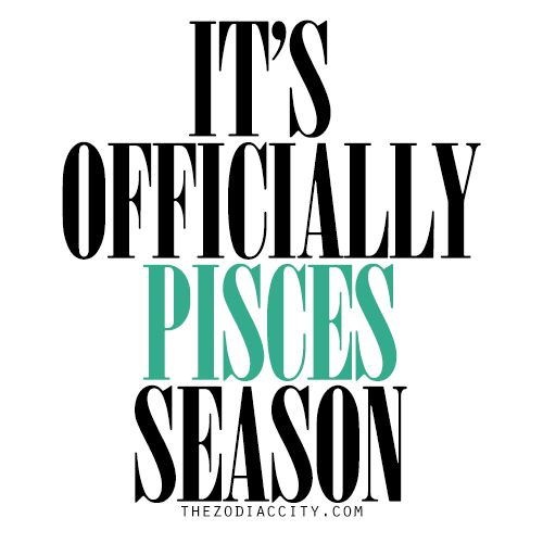 Big shoutout to all the Pisces out there!!