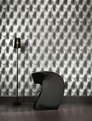 Sow Holographic Chesterfield Vinyl Wallpaper