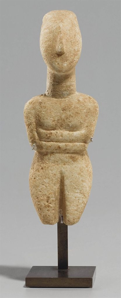 A CYCLADIC MARBLE RECLINING FEMALE FIGURE - LATE SPEDOS VARIETY CIRCA 2500 B.C. | Christieu0027s & 65 best Cyclades images on Pinterest | Ancient art Ancient greece ... islam-shia.org