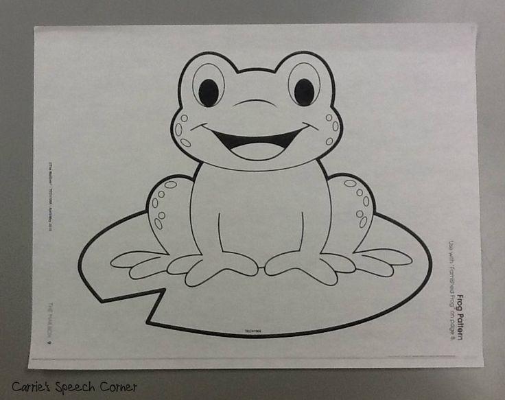 Carrie\'s Speech Corner: Articulation Frogs ~ A Craftivity | Animal ...