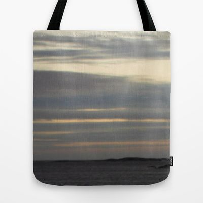 #grey #sea Tote Bag by Platinepearl - $22.00
