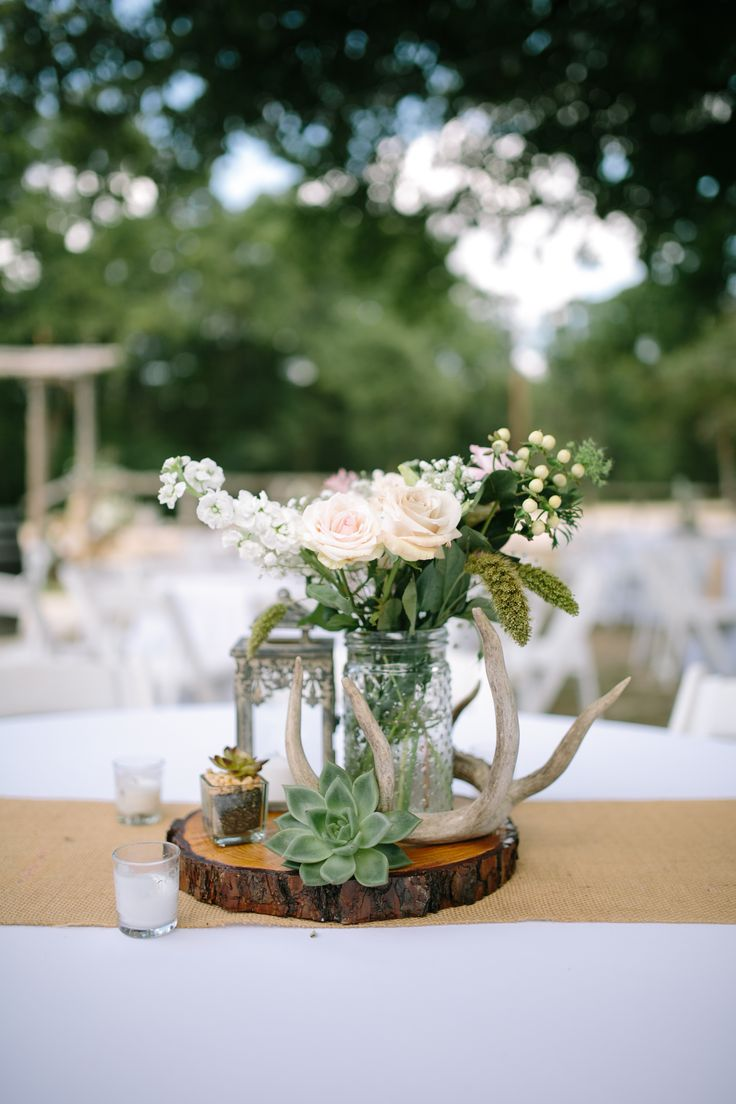 17 Best Ideas About Wooden Centerpieces On Pinterest