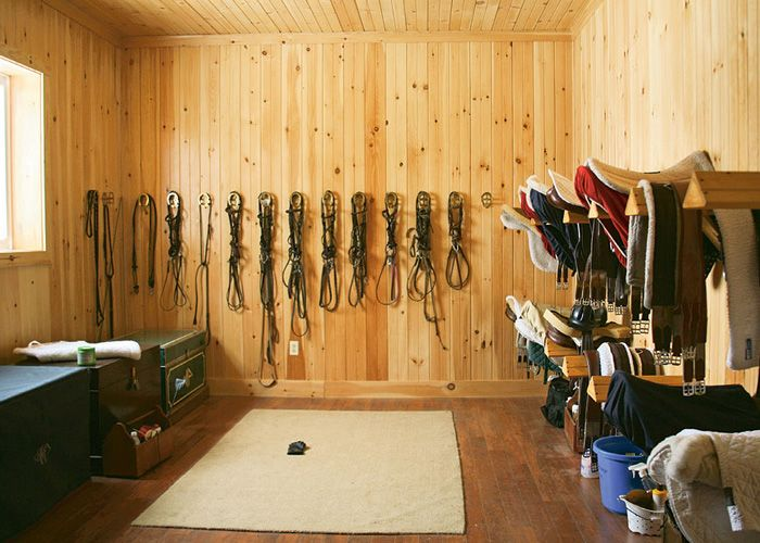 Is it strange that I would love to go in to people's barns and turn their disastrous, disorganized tack rooms and feed rooms, into well-organized and attractive FUNCTIONAL spaces?