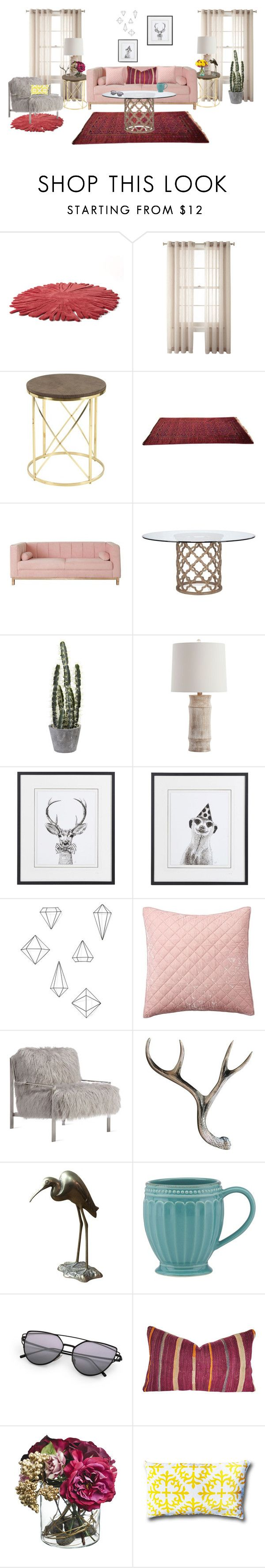 """""""Maroon"""" by jet1397 ❤ liked on Polyvore featuring interior, interiors, interior design, home, home decor, interior decorating, Nodus, Royal Velvet, Arteriors and Umbra"""