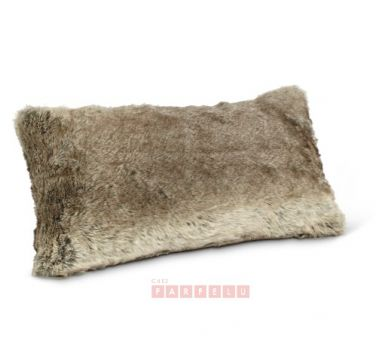 Coussin fourrure | acceuil