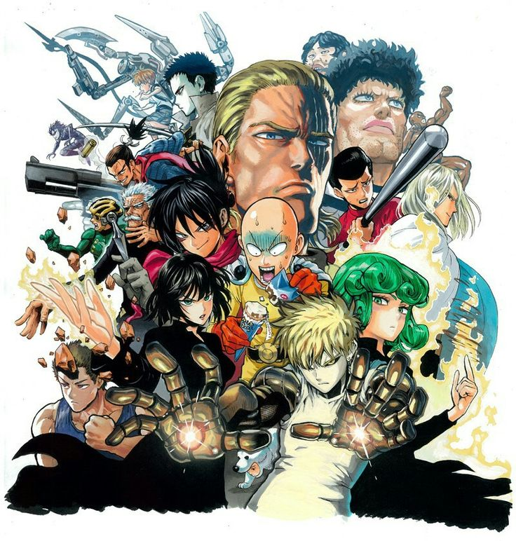 Pin by Aqeel Taylor on Anime & Manga One punch man manga
