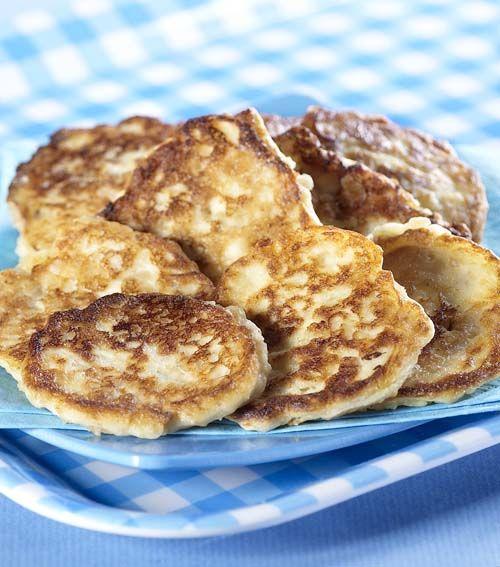 Pannenkoekjes met verse kaas