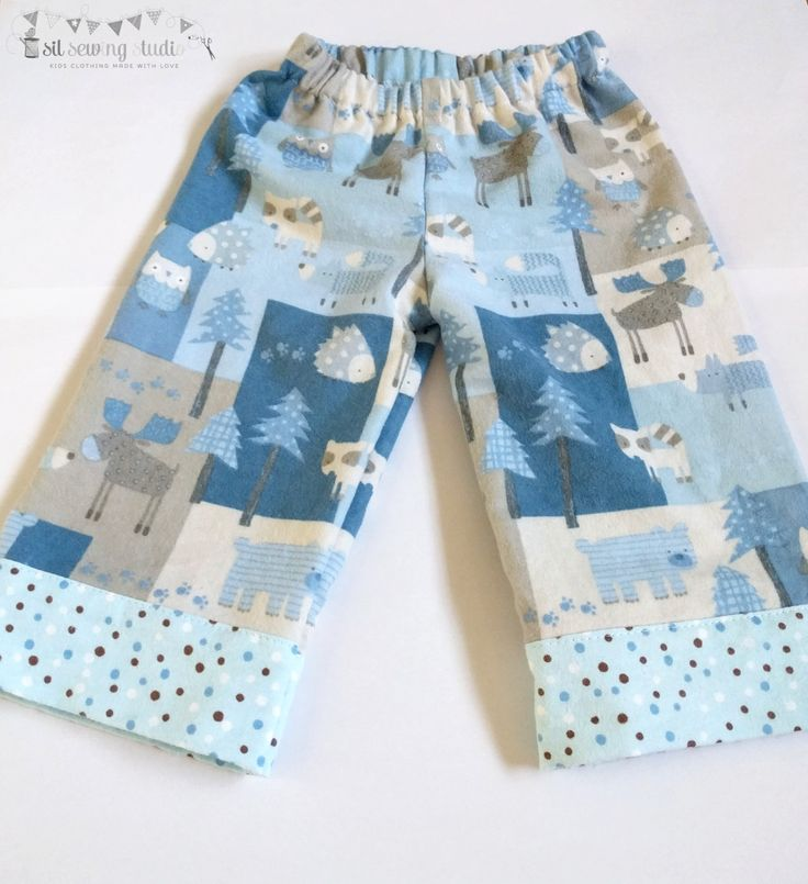 Christmas Pajama pants flannel reindeer woodland animals Baby Christmas pajama pants Reindeer Sizes 3 m 6m,12m,18m,2T,3T,4T,5,6,7,8,10,12 by SilSewingStudio on Etsy