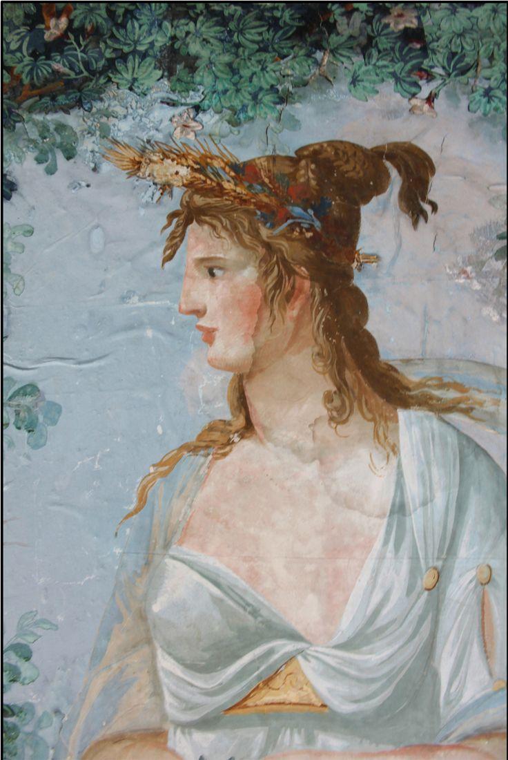 Peinture murale peintes par Granet