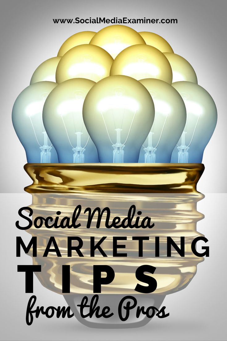 Would you like to improve your social media marketing? Are you up to date with the best social media tips and tools? Social Media Examiner gathered 20 social media marketing tips from the pros to help you out. http://www.socialmediaexaminer.com/social-media-marketing-tips-pros/