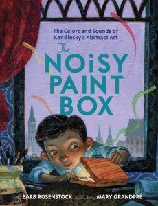 Perfect new picture book for those lessons about Kandinsky. Release date 2014. Keep an eye out for it art teachers!