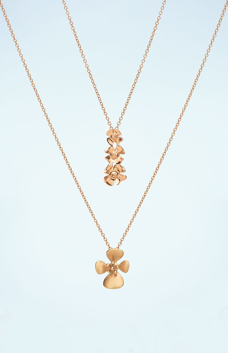 Enjoy #springtime with this #ForgetMeNot necklaces #TrendCollection #MyLittleLuxury